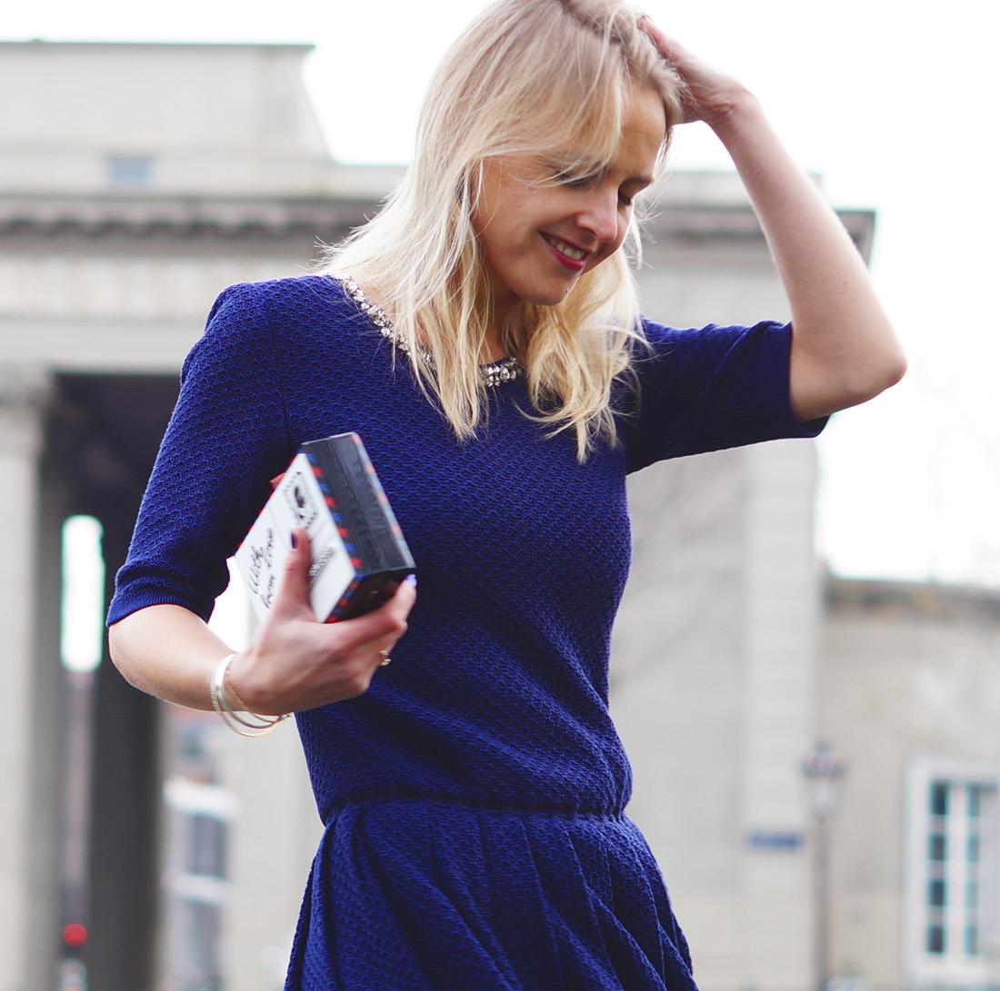 Bag-at-you---Fashion-blog---Karl-Lagerfeld-clutch---Zein-Knitwear---Swarovski-dress---Christmas-look