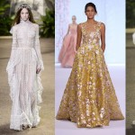 Wedding Dress inspiration from the Couture Catwalks in Paris