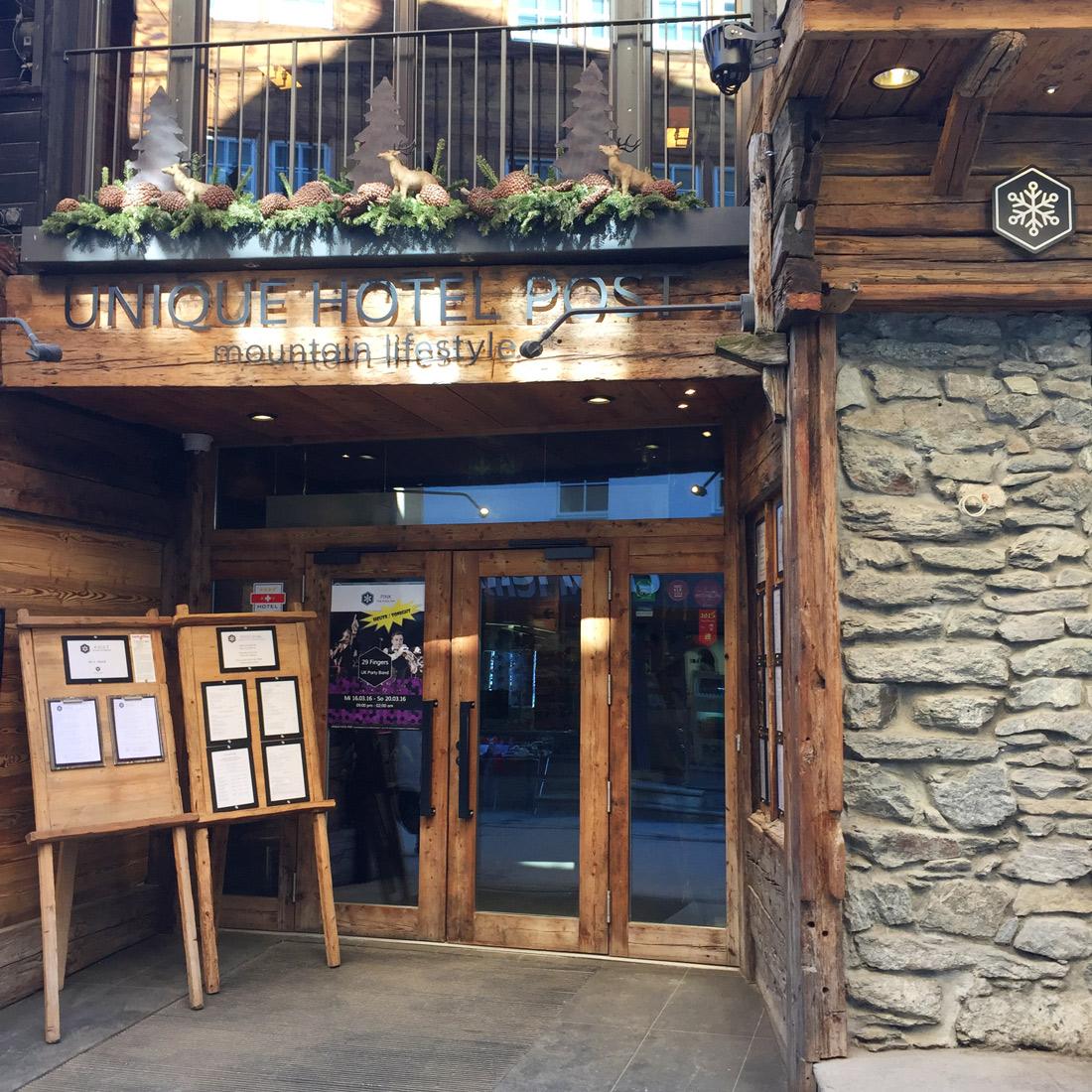 Unique Hotel Post In Zermatt!
