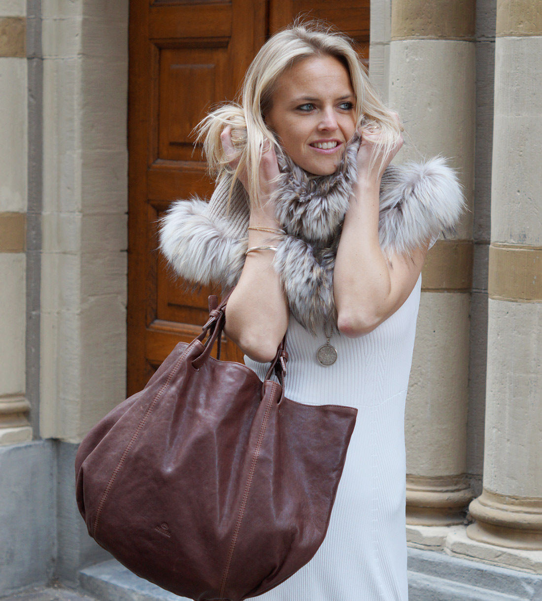 Bag-at-you---Fashion-blog---Brown-leather-Shopper