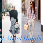Trend: Metal Handle Bag
