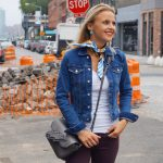 Casual street style look in New York City!