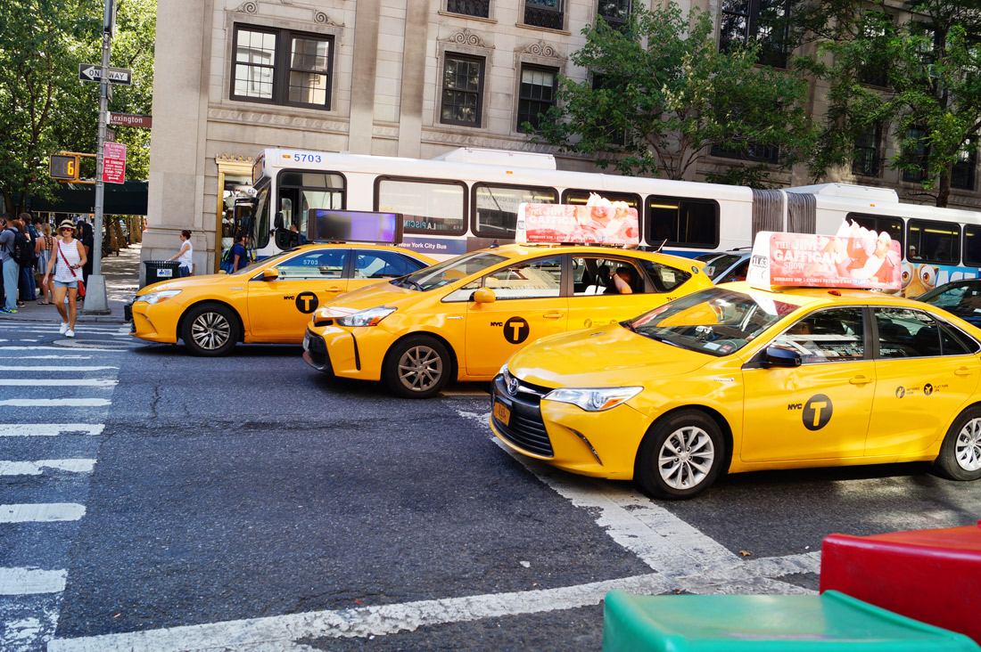 Bag-at-you---Travel-Blog---New-York---Taxis