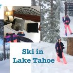 Vlog: Lake Tahoe ski adventures!