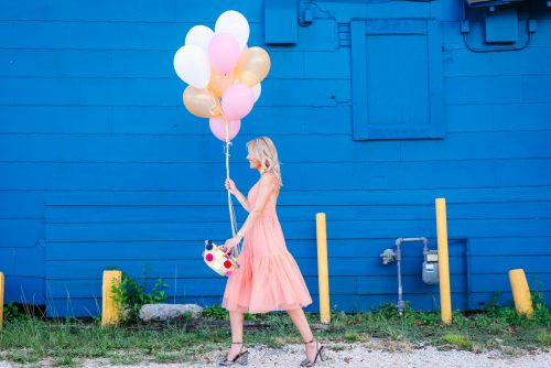 Bag at you - Fashion blog - Birthday - pink dress