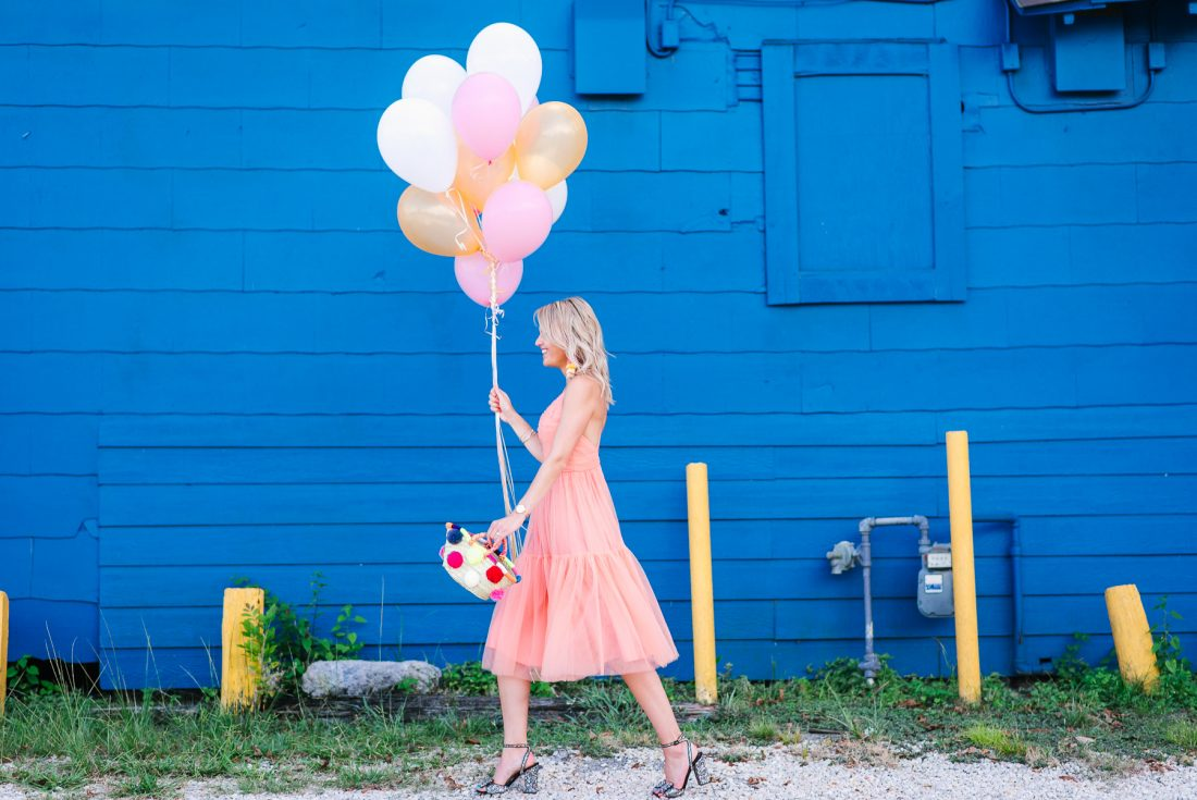 Bag at you - Fashion blog - Birthday - pink dress