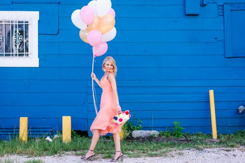 Bag at you - Fashion blog - Celebration pink dress