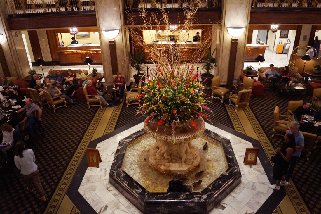 Bag-at-you---Travel-blog---Ducks-in-The-Peabody-Hotel