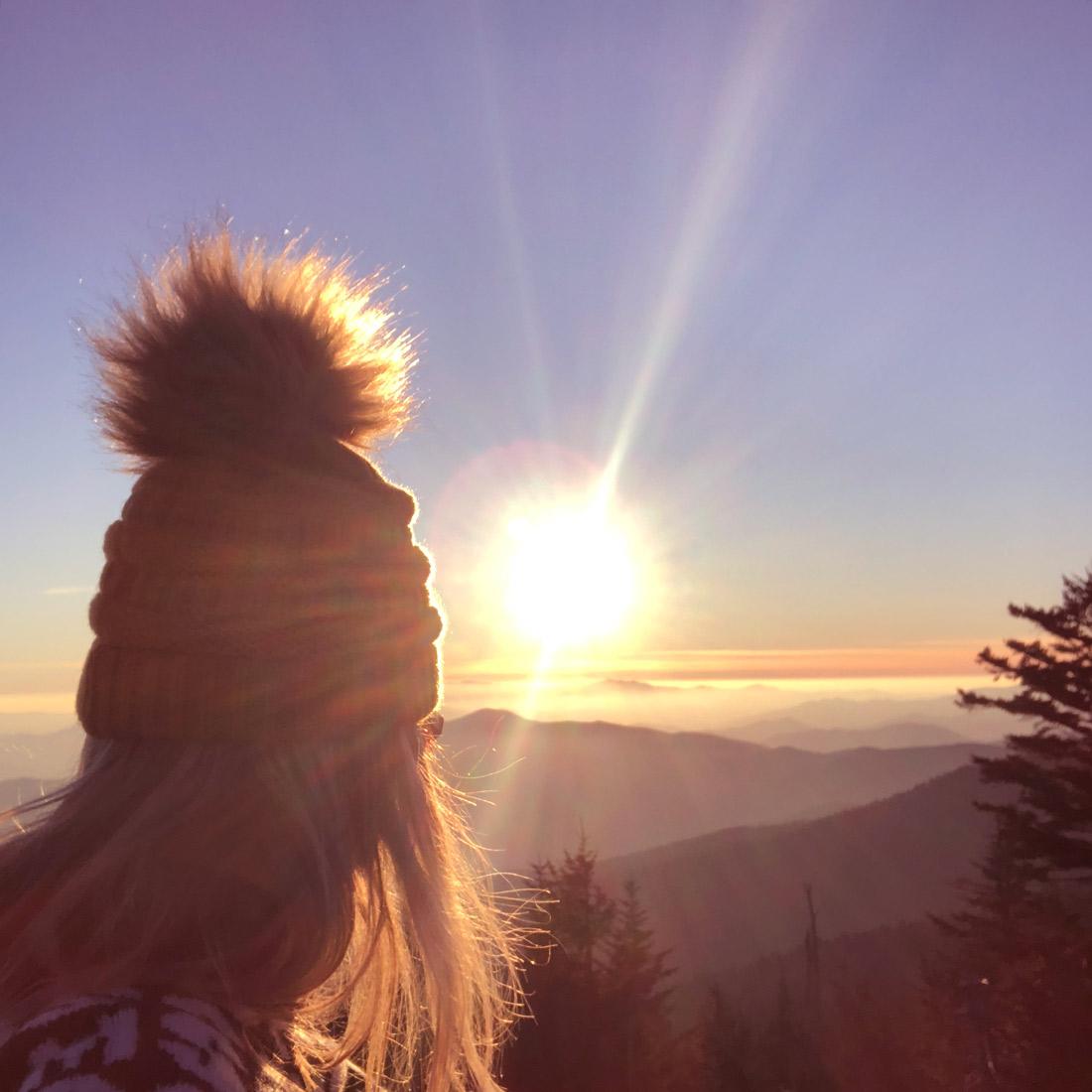 Bag-at-you---Travel-blog---Sunset-Smoky-Mountains