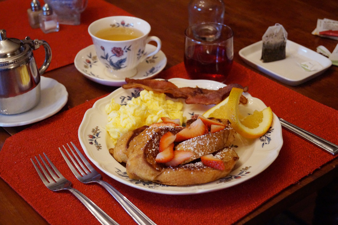 Bag-at-you---Travel-blog---Yellow-House-on-Plott-Creek-Rd---French-toast