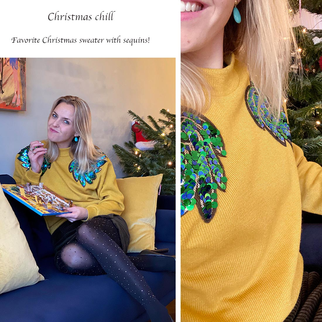 What to wear for Christmas - Christmas chill