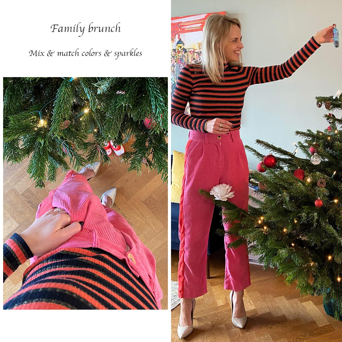 What to wear for Christmas - family brunch